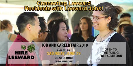 7th Annual Hire Leeward Job & Career Fair  tickets
