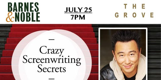 "Weiko Lin joins us to celebrate ""CRAZY SCREENWRITING SECRETS"""