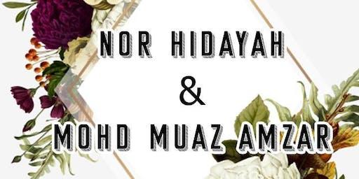 Majlis Perkahwinan Hidayah & Muaz