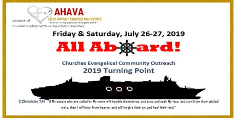 All Aboard! 2019 Turning Point tickets