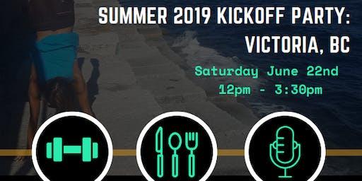 Athletic Summer 2019 Kick-Off Party:  Victoria BC Grade 6-9 Girls