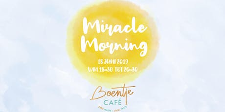 The Miracle Morning (NL versie) tickets