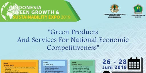 Indonesia Green Growth & Sustainability Expo 2019 (www.greensustainability.co.id)