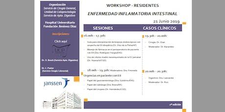 Workshop Enfermedad Inflamatoria Intestinal- 2ª edición entradas