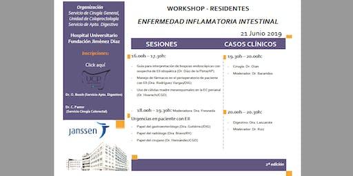 Workshop Enfermedad Inflamatoria Intestinal- 2ª edición