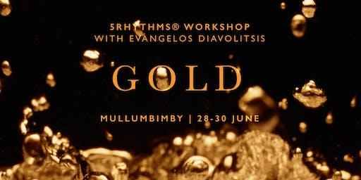GOLD ~ 5Rhythms workshop with Evangelos