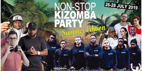Non-stop kizomba Party summer edition tickets
