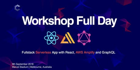 Workshop: Fullstack Serverless App with React, AWS Amplify and GraphQL | ComponentsConf tickets