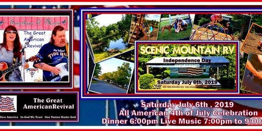 Patriotic Music July 6th at Scenic Mountain RV Milledgeville Ga