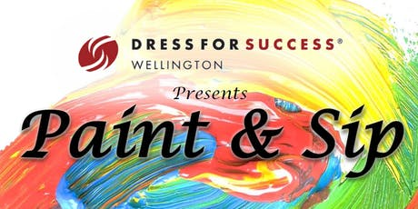 Charity Paint'n'Sip - Dress for Success Wellington tickets
