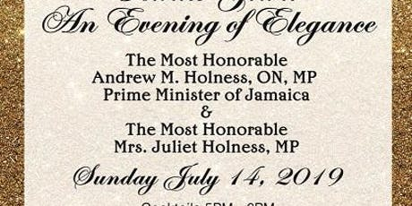 An Evening of Elegance Prime Minster of Jamaica tickets