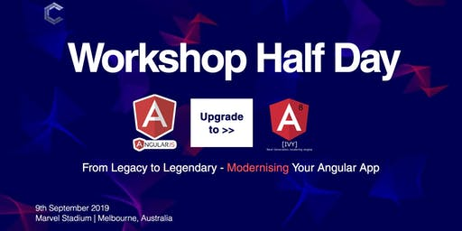 Workshop: From Legacy to Legendary - Modernising Your Angular App | ComponentsConf
