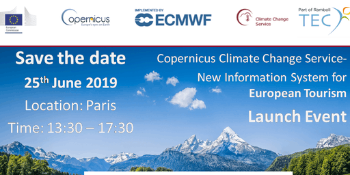 Copernicus Climate Change Service for European Tourism - Launch Event