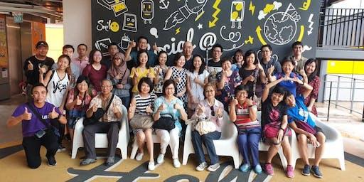 """Tourism Entrepreneurship @ LaunchPad """"Silicon Valley of Singapore"""" Tour #2"""