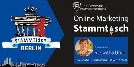 Onlinemarketing-Stammtisch Berlin Tickets