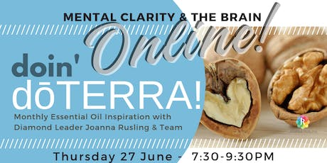 doin' dōTERRA ONLINE - Mental Clarity and the Brain tickets
