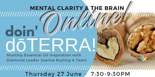 doin' dōTERRA ONLINE - Mental Clarity and the Brain