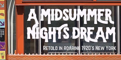 London Contemporary Performance Academy Present - A Midsummer Lights Dream