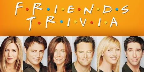 Friends Trivia at Growler USA Raleigh tickets