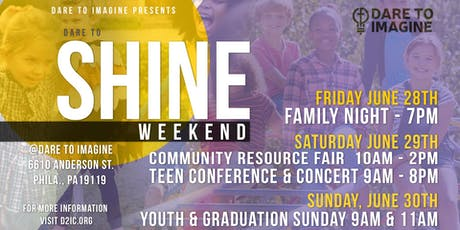 Dare to Shine Youth Empowerment Conference & Community Fair tickets