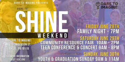 Dare to Shine Youth Empowerment Conference & Community Fair