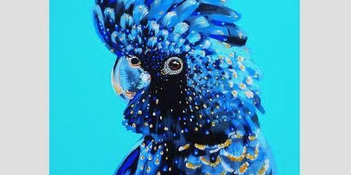 The Blue Cockatoo - Art Class
