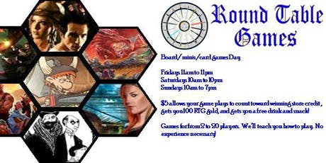 Board/Card/Mini Game Day at Round Table Games tickets