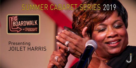 AC Off-Boardwalk Summer Cabaret Series: Joilet Harris sings SUMMER LOVE, WITH JOI tickets