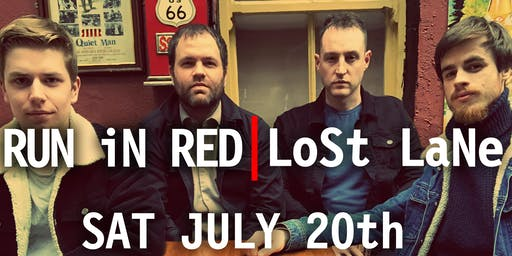 RUN iN RED Live at LoSt LaNe, Dublin