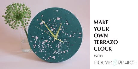 Make Your Own Terrazzo Clock with Polymorphics tickets