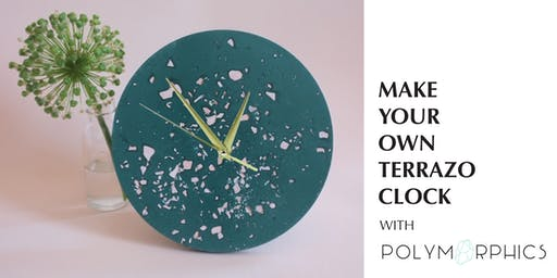 Make Your Own Terrazzo Clock with Polymorphics