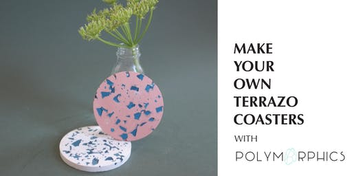 Make Your Own Terrazzo Coasters with Polymorphics