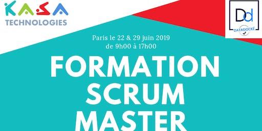 Formation Scrum Master les samedis 22 & 29 juin à Paris