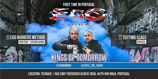 Kings of Tomorrow Egobarbers