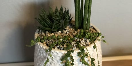 Make it & Take it: Faux Log Succulent Garden tickets