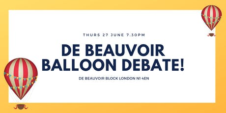 Summer De Beauvoir Balloon Debate tickets