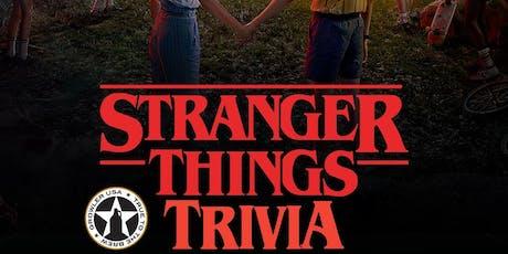 Stranger Things Trivia at Growler USA Katy tickets