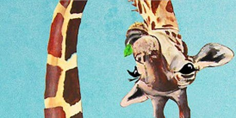 Funny Giraffe - Art Class  tickets