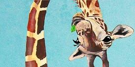 Funny Giraffe - Art Class
