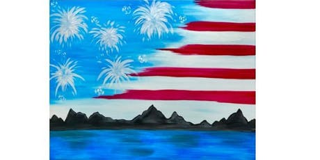 Fireworks Flag Fundraiser -Brixx Ice Company - Paint Party  tickets