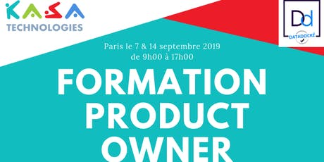 Formation Product Owner les samedis 7 & 14 septembre à Paris billets