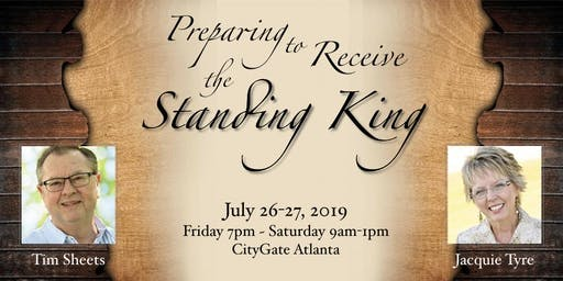 Standing King Conference with Tim Sheets