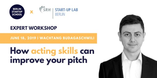 HOW ACTING SKILLS CAN IMPROVE YOUR PITCH ⭐️ with Wachtang Budagaschwili