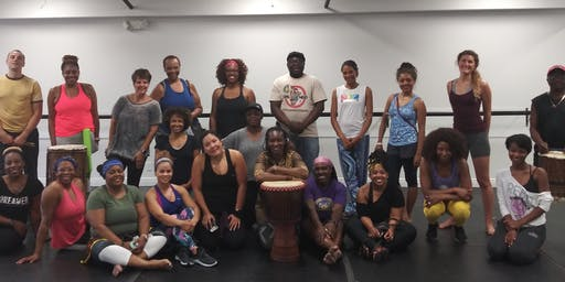 Orlando African Dance Workshop 12 - Coupe Decale