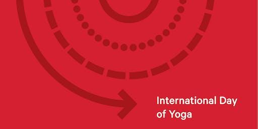 International Day of Yoga with lululemon X CAMP