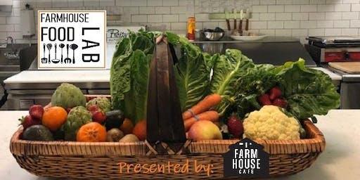 Farmhouse Food Lab: Cauliflower 3 Ways Demonstration