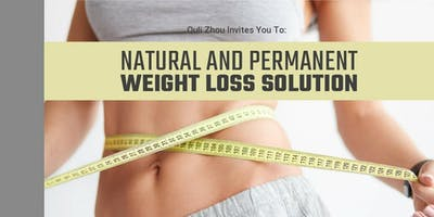Natural, Permanent Weight Loss Solutions
