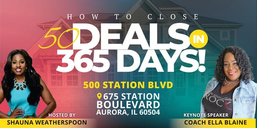50 Deals in 365 Days Agent Master Mind Training With Coach Ella Blaine