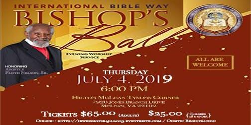 IBW Bishop's Ball 2019