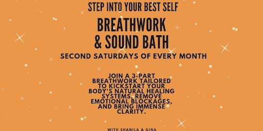 Breath Work & Sound Bath with Gina and Shanila